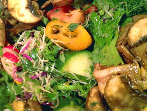 Salat_Champignion